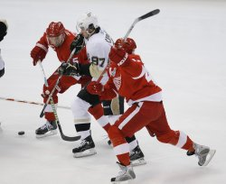 NHL Stanley Cup Final Pittsburgh Penguins vs Detroit Red Wings