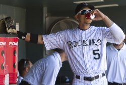 Colorado Rockies Host the Milwaukee Brewers in Denver