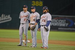 Oakland A's vs Detroit Tigers in Game 3 American League Division Series