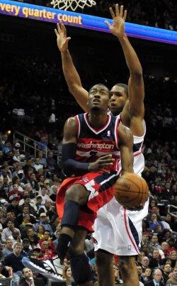 Atlanta Hawks play Washington Wizards in their NBA home opener
