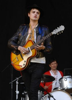 "BABYSHAMBLES PERFORM AT ""THE V FESTIVAL"" IN LONDON"