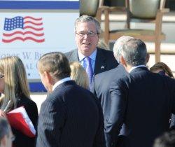 George W. Bush Presidential Library Dedication in Dallas
