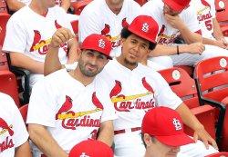 St. Louis Cardinals team photograph day