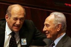 Israeli PM Olmert Attends Rabin Memorial
