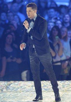 Singer Michael Buble hosts the 2013 Juno Awards in Regina