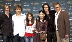 """The Chronicles of Narnia: Prince Caspian"" promote in Japan."