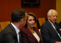 "Creators of HBO series ""John Adams"" meet Speaker Pelosi in Washington"