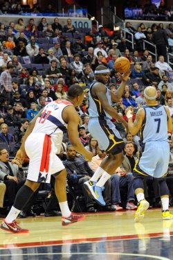 Washington Wizards vs Memphis Grizzlies in Washington