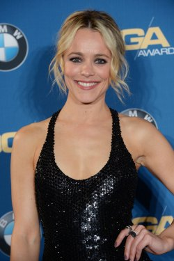 Rachel McAdams appears backstage at the 68th annual Directors Guild of America Awards