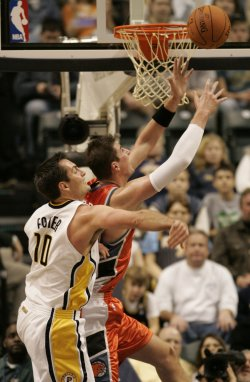 CHARLOTTE BOBCATS VS INDIANA PACERS