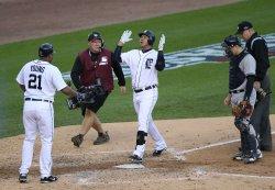ALCS New York Yankees at Detroit Tigers Game Four