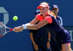 Ekaterina Makarova vs Na Li at the U.S. Open in New York