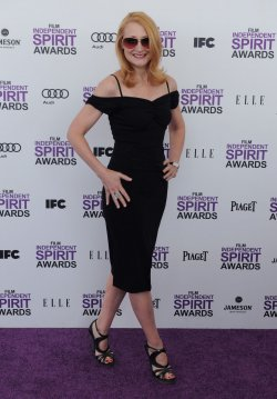 Patricia Clarkson attends the Film Independent Spirit Awards in Santa Monica, California