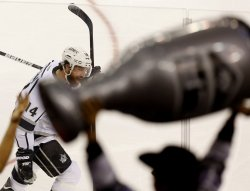 Los Angeles Kings play the New Jersey Devils in game 5 of the Stanley Cup Finals at the Prudential Center in New Jersey