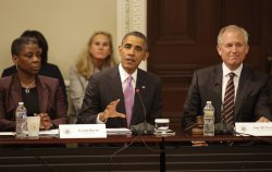 President Obama delivers remarks at a meeting of his Export Council in Washington