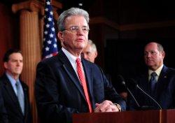 Sen. Tom Coburn speaks on the cut, cap and balance bill in Washington