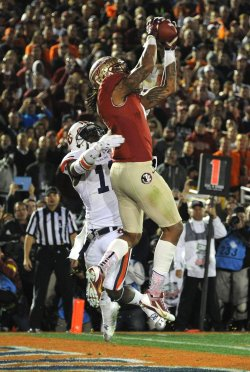 Florida State vs. Auburn BCS national title game held in Pasadena, California