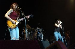 THE DONNAS IN CONCERT