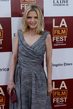"Michelle Pfeiffer attends the ""People Like Us"" premiere in Los Angeles"