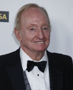 Rod Laver arrives at the G'Day USA event in Hollywood