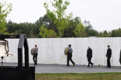 Thirteenth Anniversay of Flight 93 Crash in Shanksville, Pennsylvania