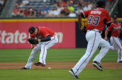 The Atlanta Braves play the Arizona Diamondbacks in Atlanta