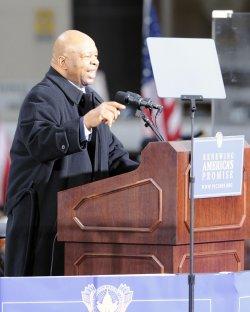 President-elect Obama Whistlestop Train Tour stops in Baltimore
