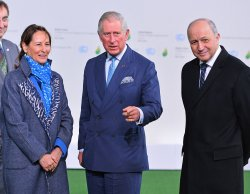 Prince Charles Arrives at Opening of UN Climate Summit Near Paris