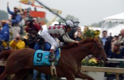 Funny Cide wins 128th Preakness Stakes