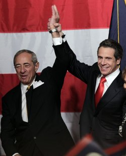 Andrew Cuomo is elected Governor of New York State on Election Night