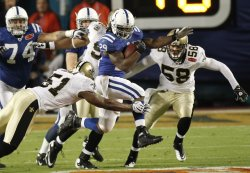 Super Bowl XLIV Indianapolis Colts vs New Orleans Saints in Miami