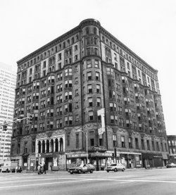 The old Lexington Hotel, the once-notorious South Side brothel and hangout of mobster Al Capone