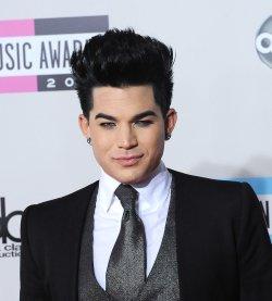 Singer Adam Lambert arrives at the 39th American Music Awards in Los Angeles