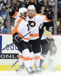 Philadelphia Flyers Defeat Penguins 6-5 in Pittsburgh
