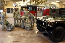 National Guard protecting selected sites in St. Louis