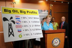 Congressional Populist Caucus calls for lower gas prices in Washington