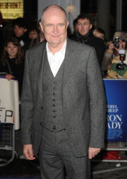 "Jim Broadbent attends the premiere of ""The Iron Lady"" in London"
