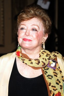 Rue McClanahan arrives for Bea Arthur Memorial Service in New York