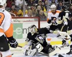 Flyers Voracek Goal Defeats Pens Defeats 6-5 in Pittsburgh