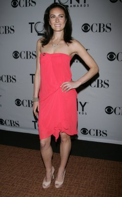 Laura Benanti arrives at the 2011 Tony Awards Meet the Nominees Press Reception in New York