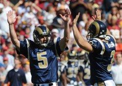 NFL Football St. Louis Rams at Washington Redskins