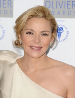 "Kim Catrall attends ""The Laurence Olivier Awards"""