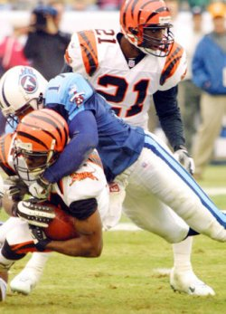 Tennessee Titans host Cincinnati Bengals Football