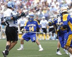 JOHNS HOPKINS VS DELAWARE NCAA LACROSSE