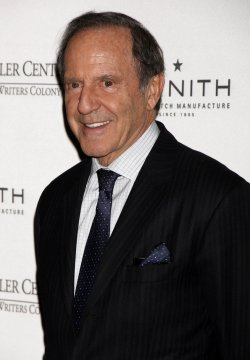 Mort Zuckerman arrives for the Norman Mailer Center's Third Annual Benefit Gala in New York