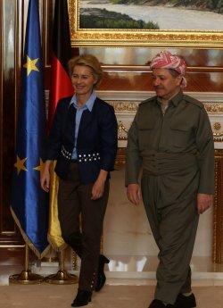 German Defence Minister Ursula Von Der Leyen Visits Iraq