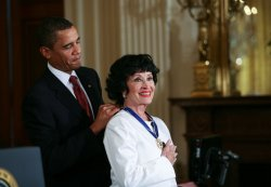 President Obama presents the Presidential Medal of Freedom to Chita Rivera in Washington