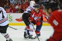 Washington Capitals vs Chicago Blackhawks in Washington