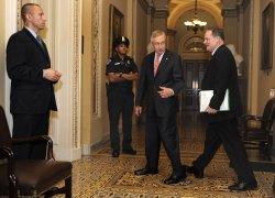 US Senate meets into the night to resolve debt ceiling impasse