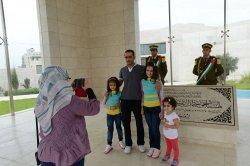 The Mausoleum Of Palestinian Leader Yasser Arafat, Ramallah